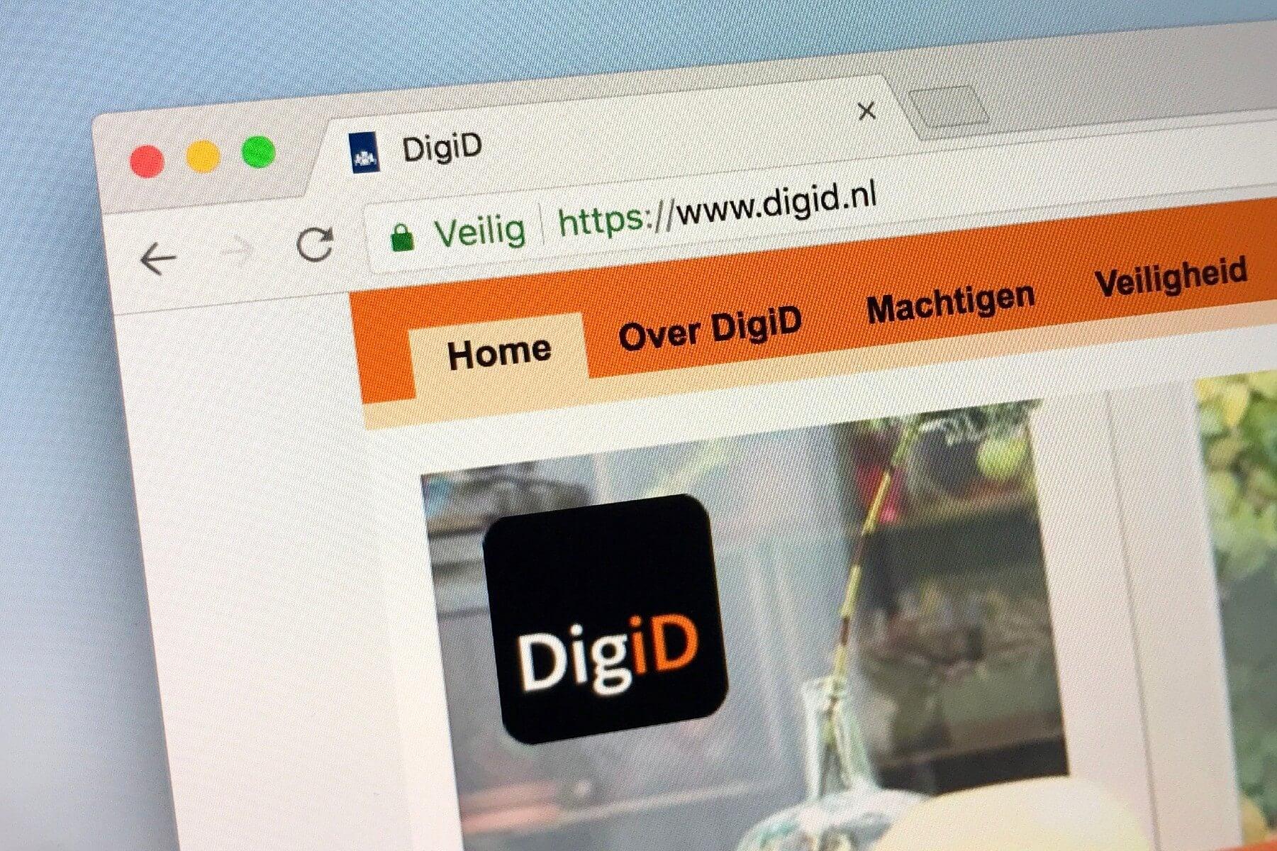 Afbeelding DigiD