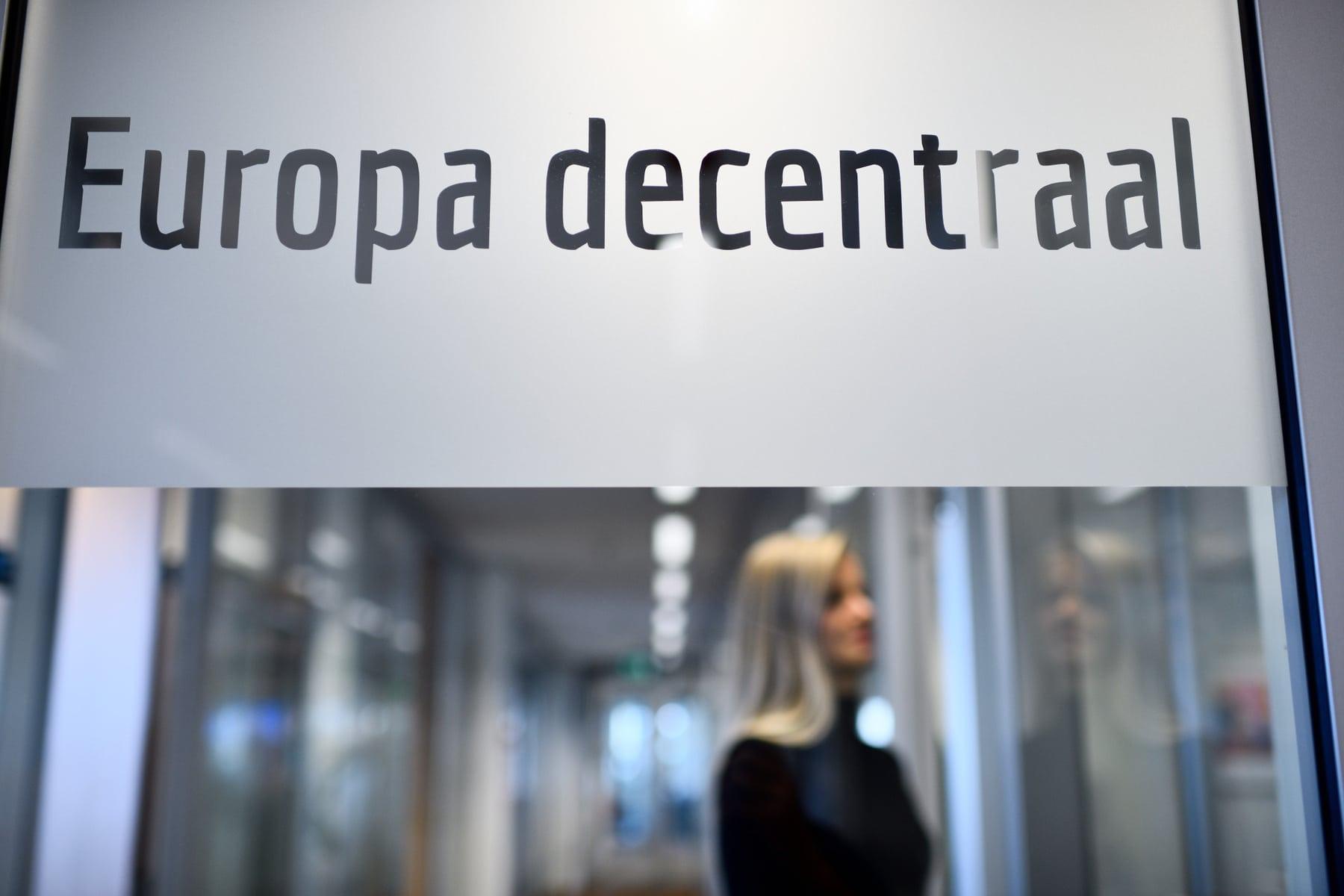 Kantoor Europa decentraal